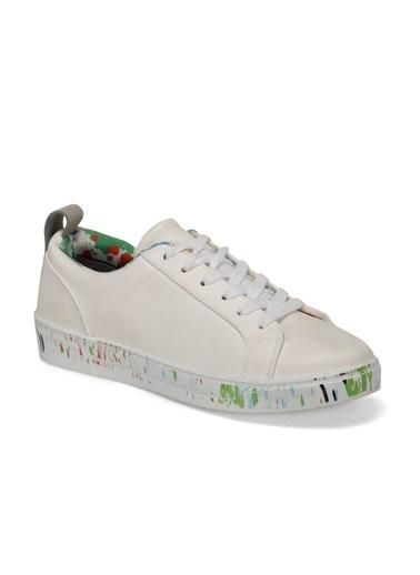 Lumberjack Kadın Beyaz Sneakers 100435863  Beyaz